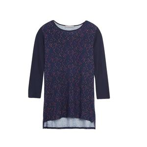 Loveappella (Stitch Fix) Carnival Print Knit Top